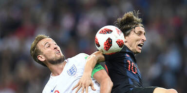 Kroatien lässt Englands Träume platzen
