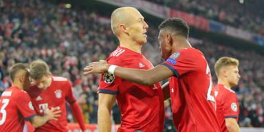 Bayern in Torlaune! 5:1-Sieg gegen Benfica