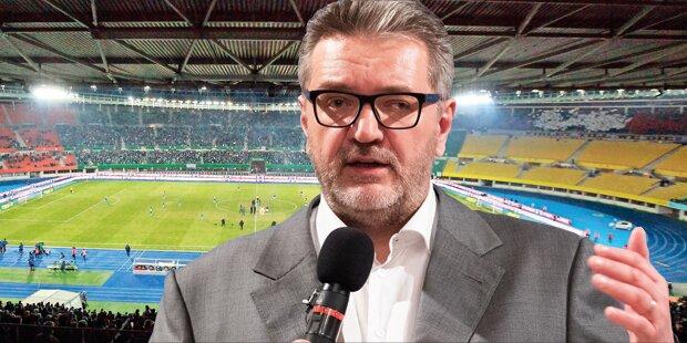 Hacker: Cup-Finale soll ins Happel-Stadion