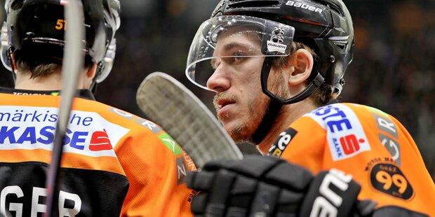 Schwerer Unfall: Sorge um Eishockey-Duo