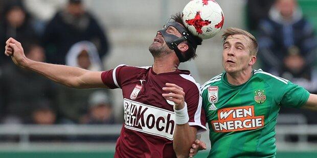 Maierhofer schimpft über Gegenspieler