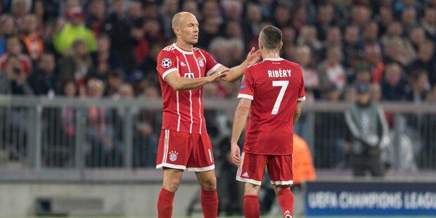 Diese zwei Mega-Stars verlassen Bayern München