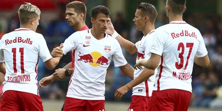 Salzburg Heimstart gegen Aufsteiger