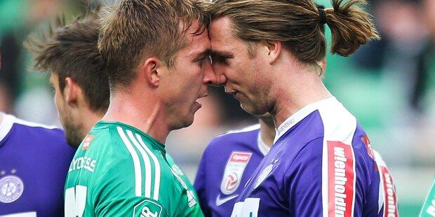 Derby: Rapid hängt die Austria ab