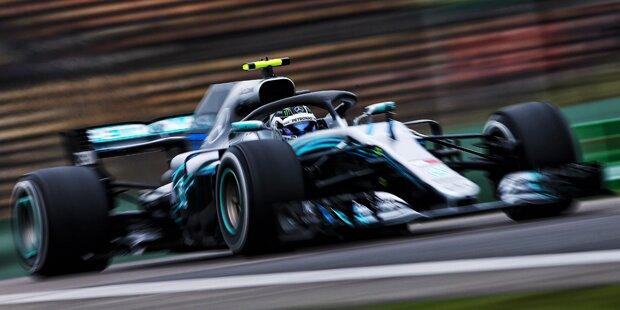Bottas schnappte Hamilton Sotschi-Pole weg