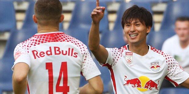 Salzburg schießt Regionalligisten ab