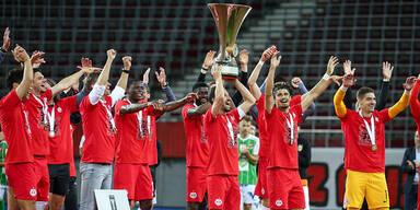 5:0-Finalsieg gegen Lustenau: Bullen krönen sich zum Cup-Sieger!
