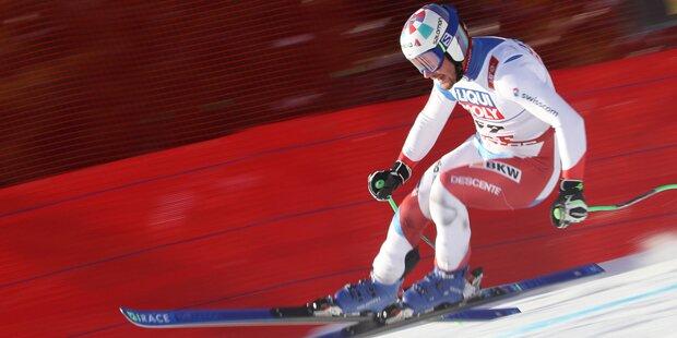 Ski-Star fährt mit Ski von verstorbenem Teamkollegen