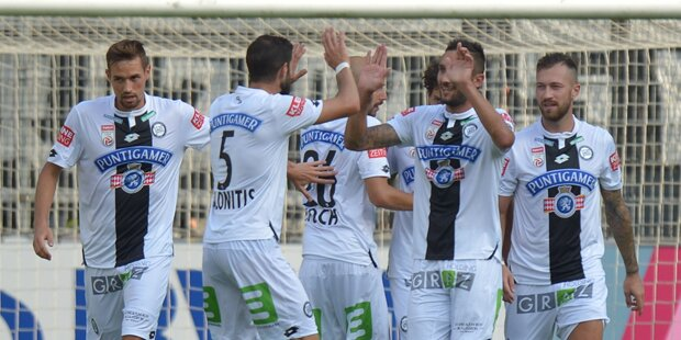 Sturm gewinnt 3:2 gegen Innsbruck