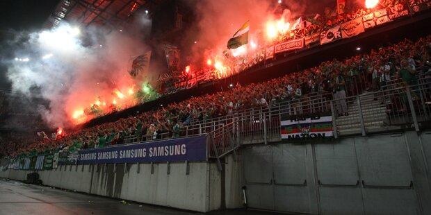 Cup-Finale: Neue Geldstrafe für Rapid
