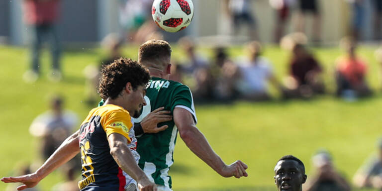 Salzburg gegen Mattersburg 2:0