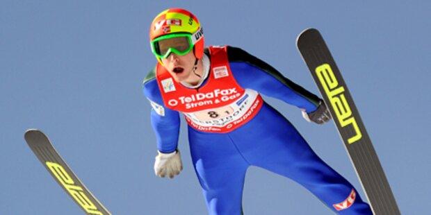 Norweger Evensen flog mit 246,5 m Weltrekord