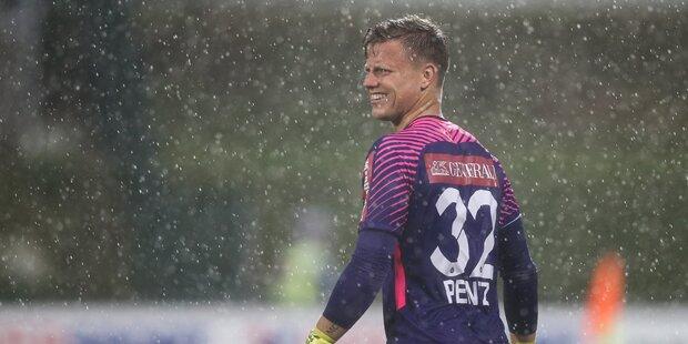 Unwetter-Chaos: WAC gegen Austria in Halbzeit abgebrochen