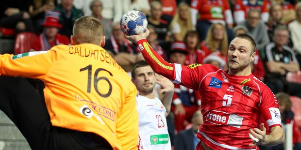 Handball: EM-Niederlage für ÖHB-Herren