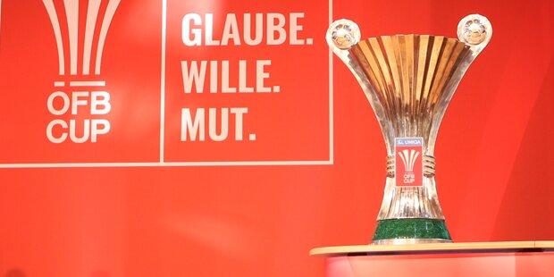 ÖFB-Cup: Rapid trifft auf Ried