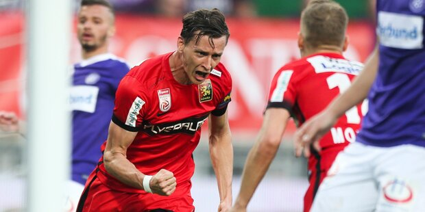 Admira schockt Austria - SVM besiegt Ried