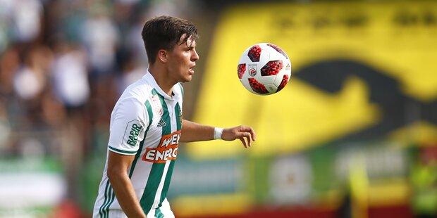 Rapid Wien kennt nächsten Gegner