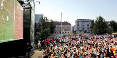 Aus für Public-Viewings in Wien droht