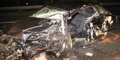 Geisterfahrer-Crash: 2 Schwerstverletzte