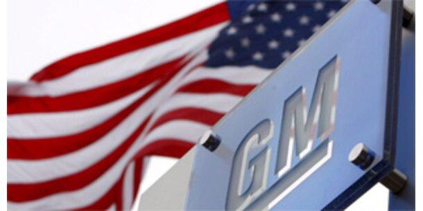 US-Regierung schließt Konkurs für GM nicht aus