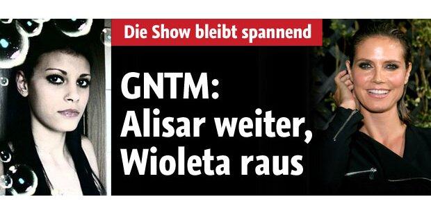GNTM: Alisar gar nicht mehr schüchtern