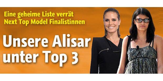 Topmodel-Finale: Alisar unter den Top 3!
