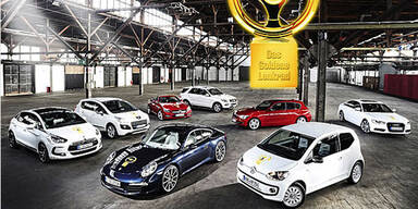 """Die Gewinner des """"Goldenen Lenkrads 2011"""""""