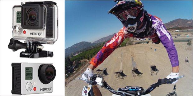 GoPro bringt die neue Hero3+ an den Start