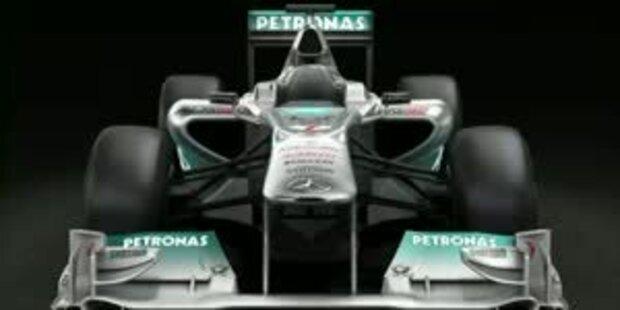 Der neue F1 Mercedes GP 02