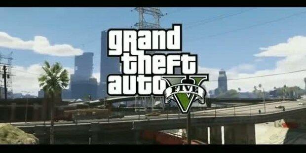 GTA 5: Brandneuer Trailer veröffentlicht