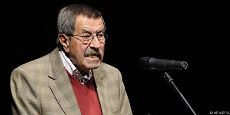 Günter Grass liest auf der Buchmesse