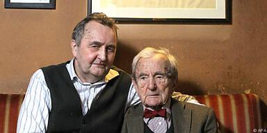 Günter und Leopold Hawelka