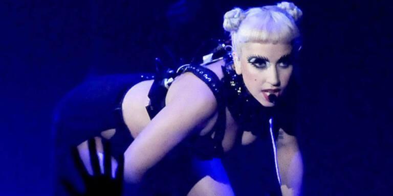 Lady Gaga zu wild für Asiens Bühnen