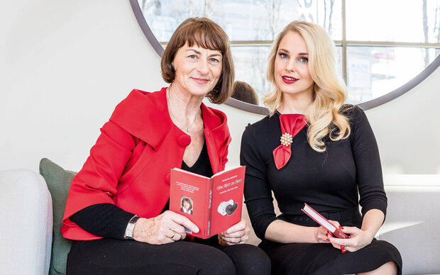 Mit Huberta Gabalier & Silvia Schneider