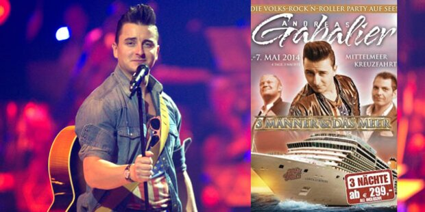 Andreas Gabalier sticht in See