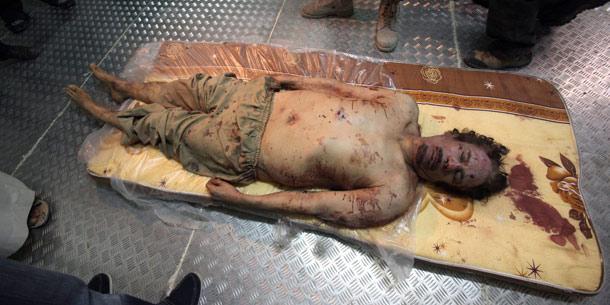 Gaddafi Kühlhaus