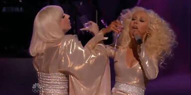 Lady Gaga & Christina Aguilera im Versöhnungs-Duett