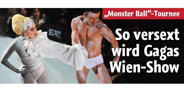 So irre und versext wird ihre Wien-Show