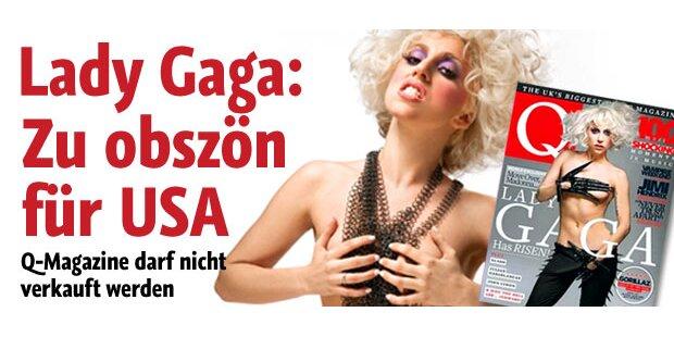 Lady Gagas Busen zu obszön für Amerika