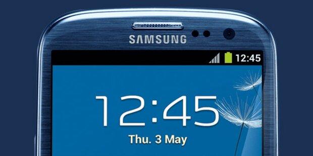 Galaxy S3: Offizieller Preis 699€