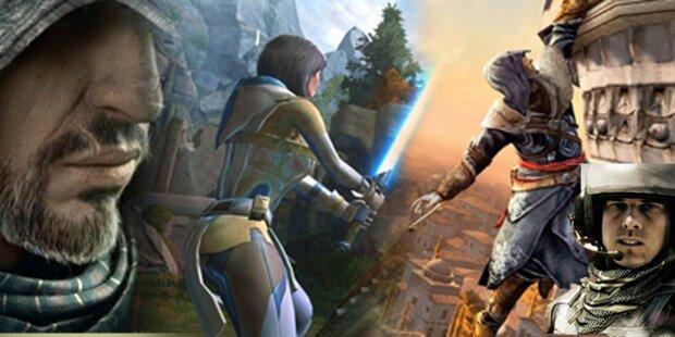 Die 20 besten Spiele der gamescom 2011