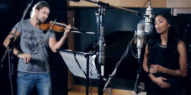David Garrett geigt für Nicole Scherzinger auf
