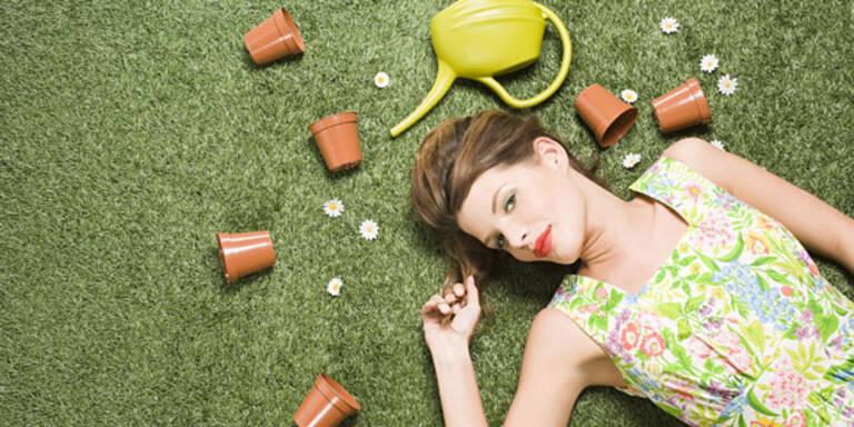 So viele Kalorien weg mit Gartenarbeit