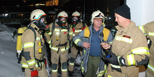 Gas-Alarm in Tiroler Hotel