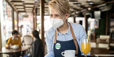 Gastro-Beschäftigte brauchen Test oder FFP2-Maske in Wien