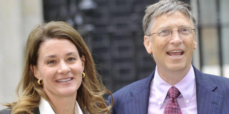 Bill und Melinda Gates bekommen Bambi