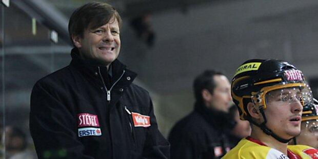 Vienna Capitals bestätigten Trainer Kevin Gaudet