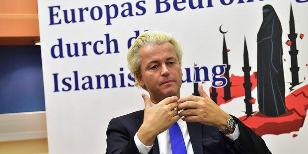 Wilders könnte Wahl gewinnen