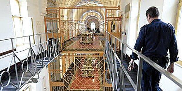 Gefängnisse platzen aus allen Nähten