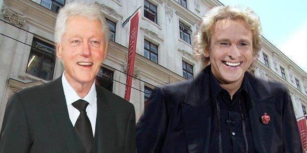 Bill Clintons geheimes Wien-Dinner